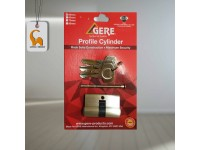 Gere 50mm Profile Cylinder Thumb Turn Door Lock Comes With 3 Keys Sirim Approved For Household Office LittleThingy